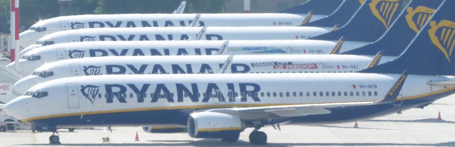 aerei in sosta